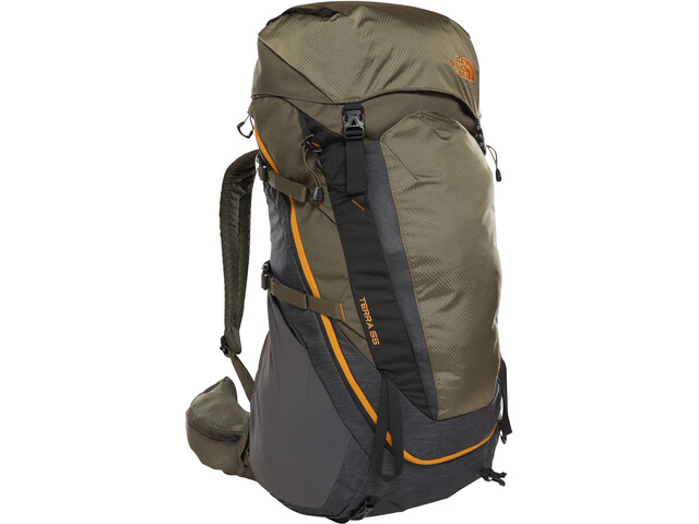 The North Face Terra 55 Backpack tnf dark grey heather/new taupe green